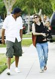Ellen Pompeo, Chris Ivery with their daughter Stella Luna were spotted leaving a friends home in Beverly Hills
