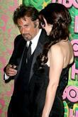 Al Pacino and Lucila Sola HBO's 62nd Annual...