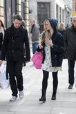 Fearne Cotton and A Friend Leaving The Bbc Radio 1 Studios To Go For Lunch