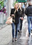 Fearne Cotton at the BBC Radio 1 studios...