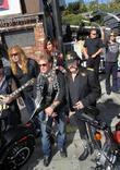 Dave Mustaine and Kat Von D
