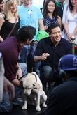 Dean Cain is interviewed by Mario Lopez on...