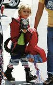 Gwen Stefani's son and Gwen Stefani