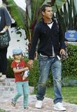 Gavin Rossdale, his eldest son Kingston visit family and friends in Beverly Hills
