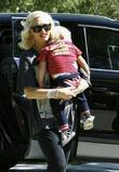Gwen Stefani, her sons Kingston, Zuma visit family and friends in Beverly Hills