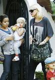 Gwen Stefani, Kingston, Zuma Rossdale visit family and friends in Beverly Hills