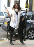 Ruth Lorenzo arrives at the recording studio to...