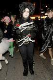 Party goer dressed as Edward Scissorhands  for...