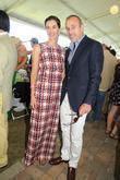Annette and Matt Lauer Hamptons Classic Horse Show...