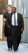 Hayden Christensen and Jimmy Kimmel