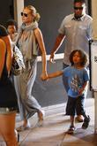 Heidi Klum and her children Henry and Lou...