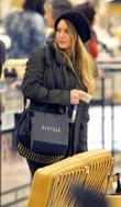 Hilary Duff Christmas shopping at Barney's New York...