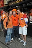 Dutch Football Fans Gather At The De Hems Pub In Central London Ahead Of The 2010 World Cup Match The Netherlands