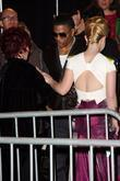 Sharon Osbourne, Kelly Osbourne and Nelly