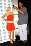 Tori Spelling and Carl Banks