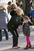 Deborra-Lee Furness and her daughter Ava Jackman take...