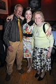 Singer Imelda May With Her Parents Has A Launch Party For Her New Album 'mayhem' At The Working Mens Club.