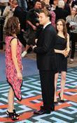 Marion Cotillard, Ellen Page and Leonardo Dicaprio