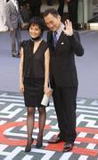 Ken Watanabe and guest The premiere of Inception...