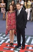 Marion Cotillard and Leonardo DiCaprio The premiere of...