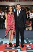 Marion Cotillard and Leonardo DiCaprio The world premiere...
