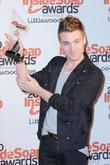 sam cooke the inside soap awards 2010 - press room