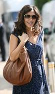 Myleene Klass outside the ITV studios London, England