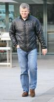 Adrian Chiles outside the ITV studios London, England