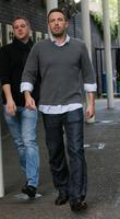Ben Affleck outside the ITV studios London, England