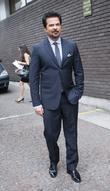 Anil Kapoor outside the ITV studios London, England