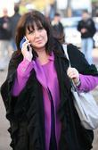 Coleen Nolan outside the ITV studios London, England