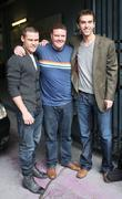 Danny Miller, Dominic Brunt and Mark Charnock