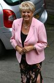 Gloria Hunniford leaving the ITV studios London, England...