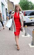 Kate Garraway leaves the ITV studios  London,...