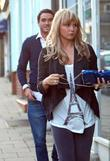 Jack Tweed and Chanelle Hayes arrive at Sheesh...