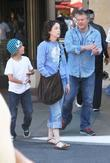 Jane Adams Was Spotted Shopping With Her Family At The Grove In Hollywood