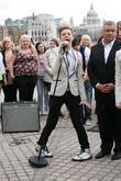 Jedward perform live on the South Bank for...