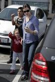 Jennifer Garner and her daughter Violet Affleck