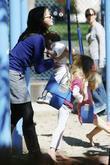 Jennifer Garner, daughters Seraphina Rose Affleck and Violet Affleck