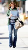 Jennifer Love Hewitt leaving Drybar in Studio City...