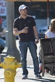 Jerry Ferrara  'The Entourage' star having lunch...