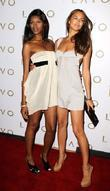 Jessica White and Irina Shayk