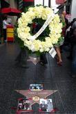 A Wreath Is Placed On The Hollywood Walk Of Fame Star For Johnny Grant Who Passed Away On January 9th 2008