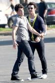 Nick Jonas and Kevin Jonas