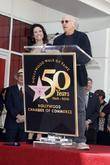 Julia Louis-Dreyfus and Larry David