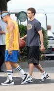 Justin Timberlake and Woody Harrelson