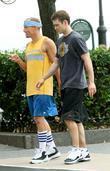 Woody Harrelson and Justin Timberlake