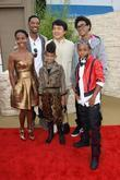 Will Smith, Jackie Chan, Jada Pinkett, Jaden Smith