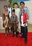 Will Smith, Jackie Chan, Jada Pinkett and Jaden Smith