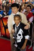 Jackie Chan and Jaden Smith  Chicago premiere...